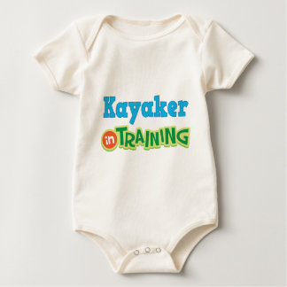 Kayaker In Training (Future) Baby Bodysuit