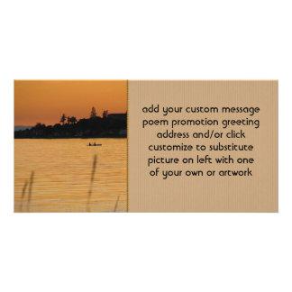 Kayakers Photo Card Template