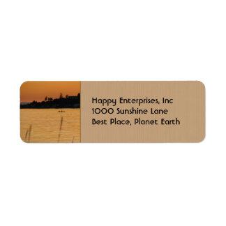Kayakers Return Address Label