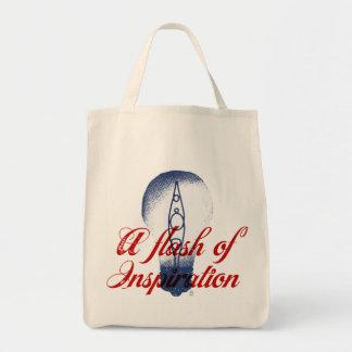 Kayaking always inspires me. tote bag