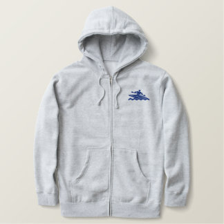 KAYAKING EMBROIDERED HOODY
