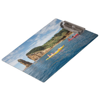 Kayaking in Azores Clipboard