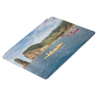 Kayaking in Azores iPad Cover