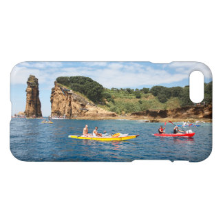 Kayaking in Azores iPhone 7 Case