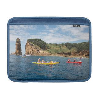 Kayaking in Azores MacBook Sleeve