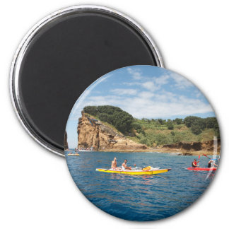 Kayaking in Azores Magnet