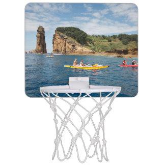 Kayaking in Azores Mini Basketball Hoop
