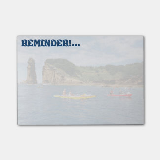 Kayaking in Azores Post-it Notes