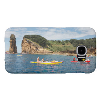 Kayaking in Azores Samsung Galaxy S6 Cases