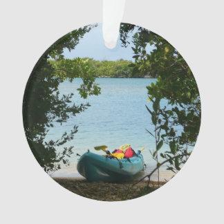 Kayaking in St. Thomas US Virgin Islands Ornament