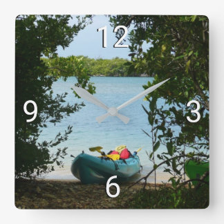 Kayaking in St. Thomas US Virgin Islands Wallclock