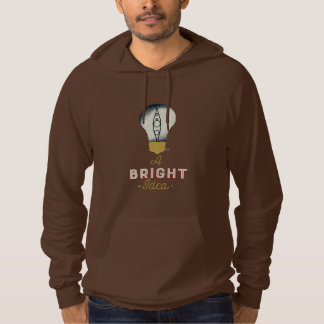 Kayaking is always a bright idea hoodie