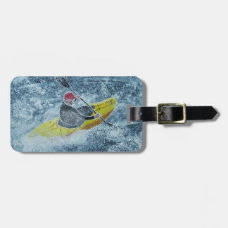 Kayaking luggage tag