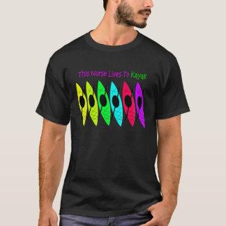Kayaking Nurse T-Shirts and Hoodies