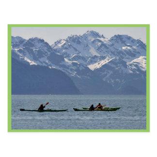 Kayaking on Resurrection Bay Post Cards