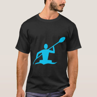 Kayaking - Sky Blue T-Shirt