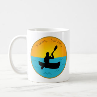 Kayaking Soul Rising Coffee Mug