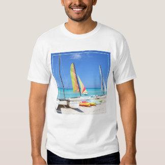 Kayaks, Catamarans And Kayaks| Cuban Beach Tee Shirt