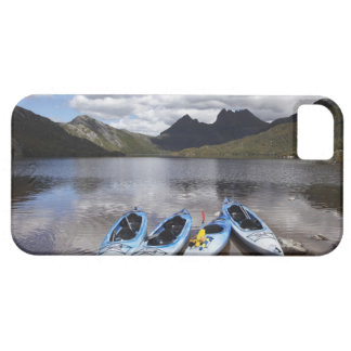 Kayaks, Cradle Mountain and Dove Lake, Cradle iPhone 5 Case