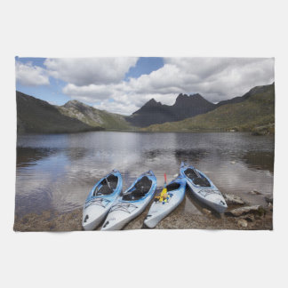 Kayaks, Cradle Mountain and Dove Lake, Cradle Tea Towel