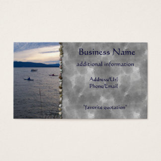 KAYAKS ON BELLINGHAM BAY BUSINESS CARD