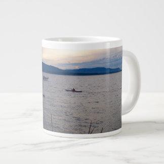 Kayaks On Bellingham Bay Giant Coffee Mug