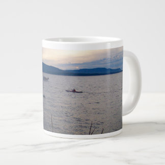 Kayaks On Bellingham Bay Large Coffee Mug