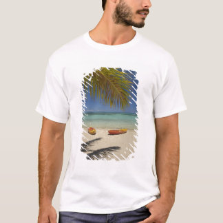 Kayaks on the beach, Plantation Island Resort 2 T-Shirt
