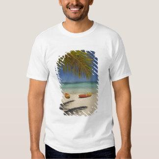 Kayaks on the beach, Plantation Island Resort 2 Tshirt