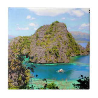 Kayangan Lake Travel Ceramic Tile