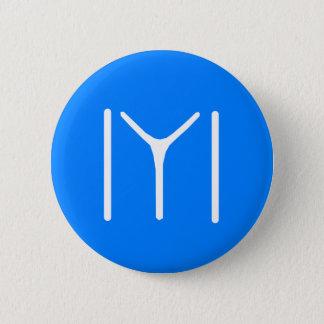 Kayi Tribe Oghuz 6 Cm Round Badge