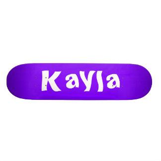 Kayla Personalized Skateboard