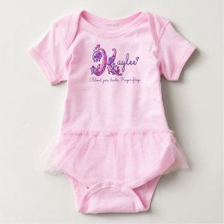 Kaylee girls name & meaning K monogram shirt