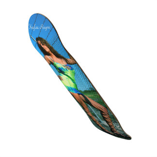 "Kaylee Rayne- ""Chain Link"" Skateboard Deck 01"