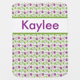 Kaylee's Personalized Iris Blanket