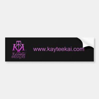 Kayteekai Logo bumper sticker