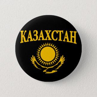 Kazakhstan 6 Cm Round Badge