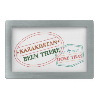 Kazakhstan Been There Done That Belt Buckle