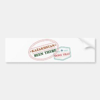 Kazakhstan Been There Done That Bumper Sticker