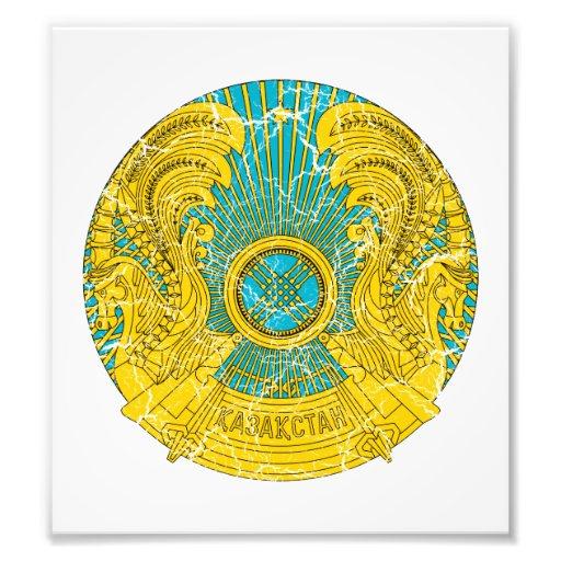 Kazakhstan Coat Of Arms Photo Print