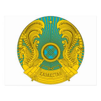 Kazakhstan Coat Of Arms Postcard