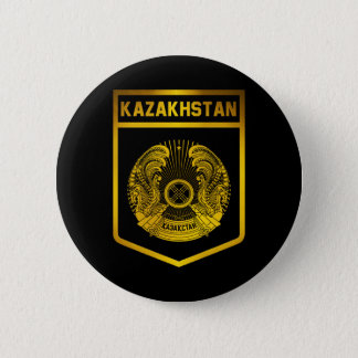Kazakhstan Emblem 6 Cm Round Badge