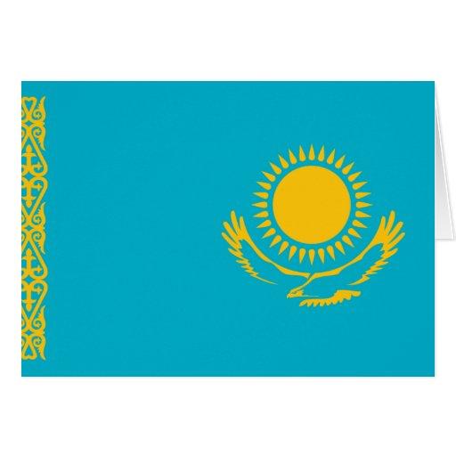 Kazakhstan Flag Cards
