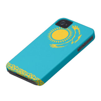 Kazakhstan Flag iPhone 4 Case-Mate Cases