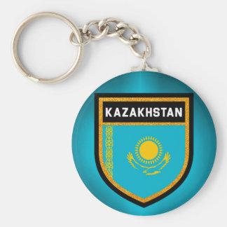 Kazakhstan Flag Key Ring