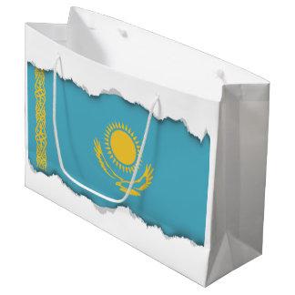 Kazakhstan Flag Large Gift Bag