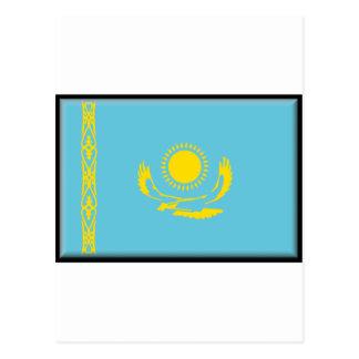 Kazakhstan Flag Postcard