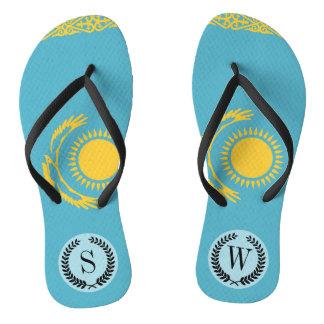 Kazakhstan Flag Thongs
