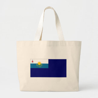 Kazakhstan Government Ensign Tote Bags