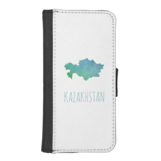 Kazakhstan iPhone SE/5/5s Wallet Case